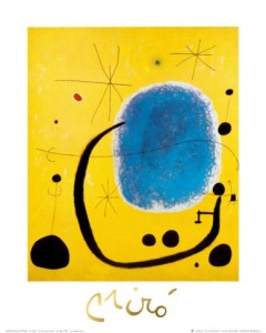 Joan-Miro-L-Oro-dell-Azzurro-100-high-quality-hand-painted-famous-abstract-reproduction-oil-paintings