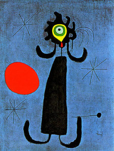 Joan-Miro-Painting-_Woman-in-Front-of-the-Sun_-1950-large-1124960203