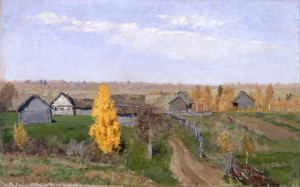 Isaac_Levitan_-_Golden_autumn._Slobodka_-_Google_Art_Project