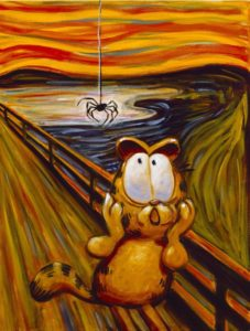garfield-scream